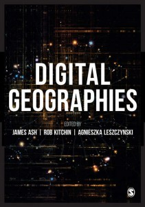 digital geographies book cover